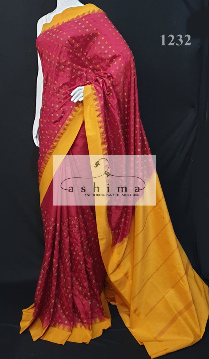 Kancheepuram soft silk saree 1232