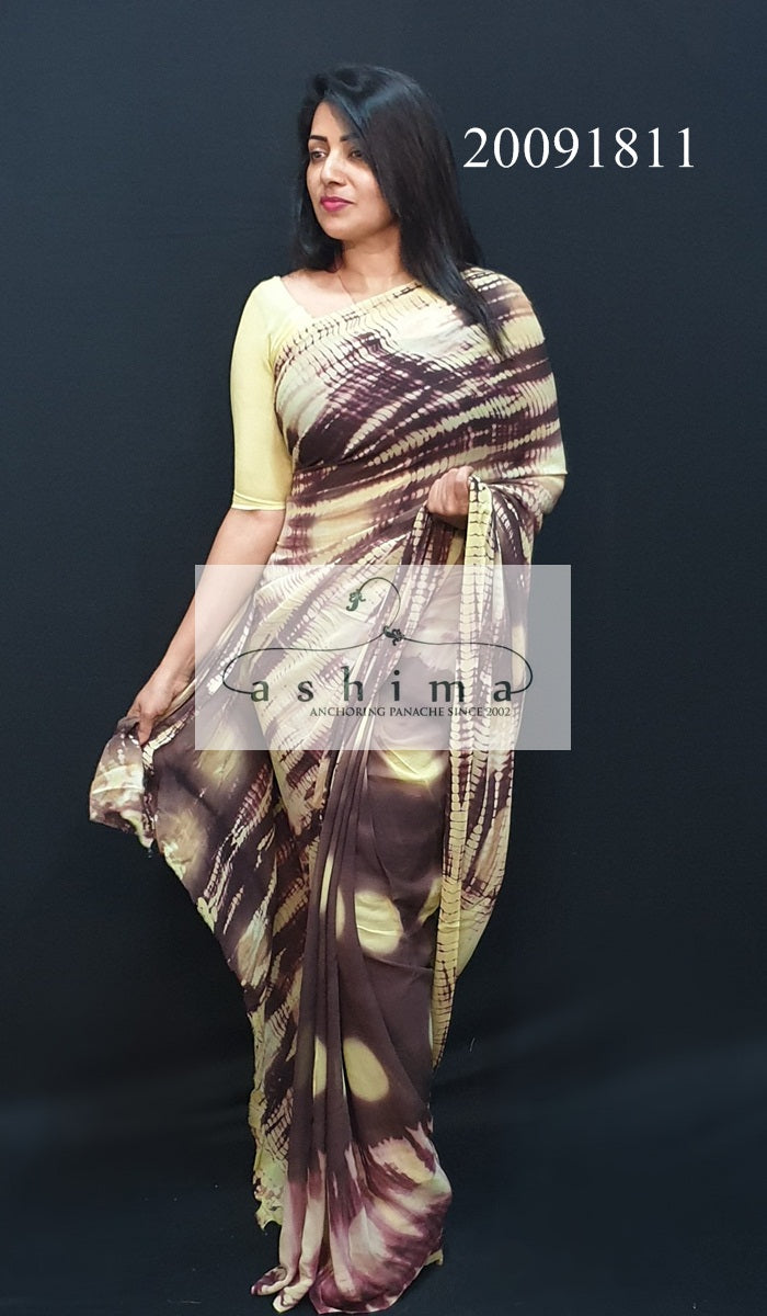 Tie and Dye Saree 20091811
