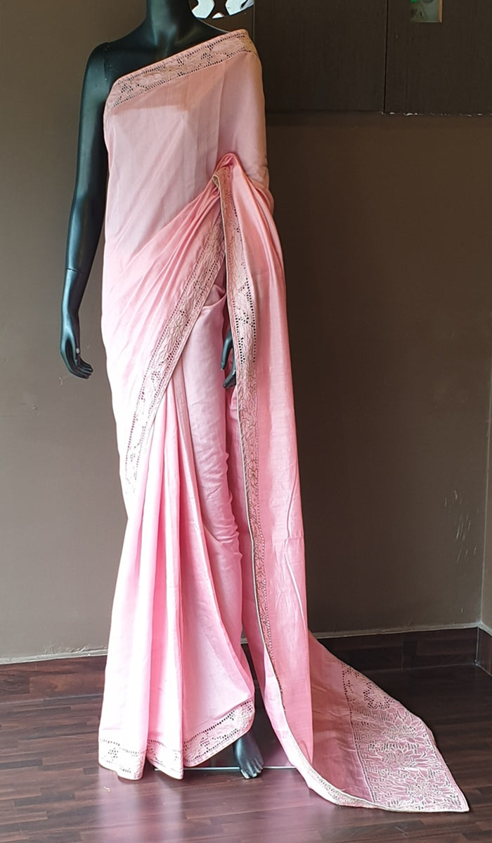 Semi silk saree 9527