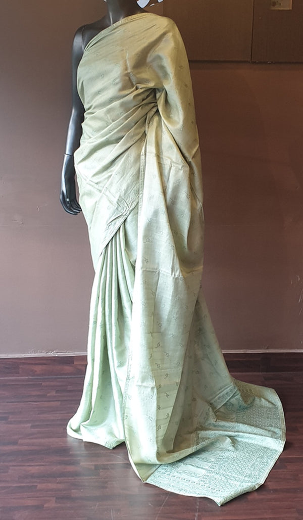 Tussar silk saree 11477
