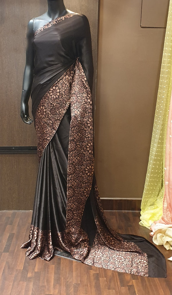 Crepe silk saree 11804