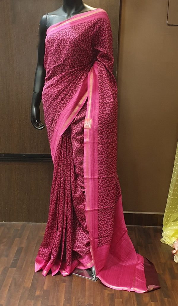 Chanderi saree 13120