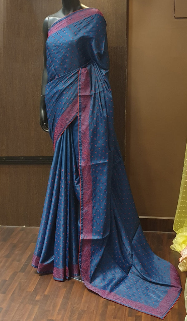 Semi silk saree 13005