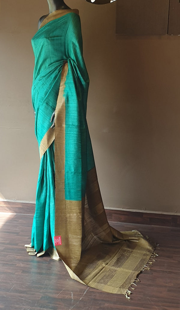 Tussar silk saree 13054