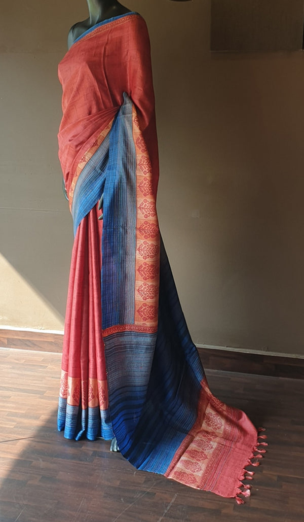 Tussar silk saree 12933