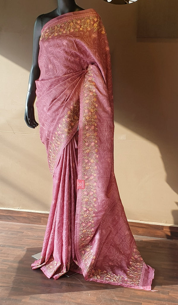 Tussar silk saree 13142