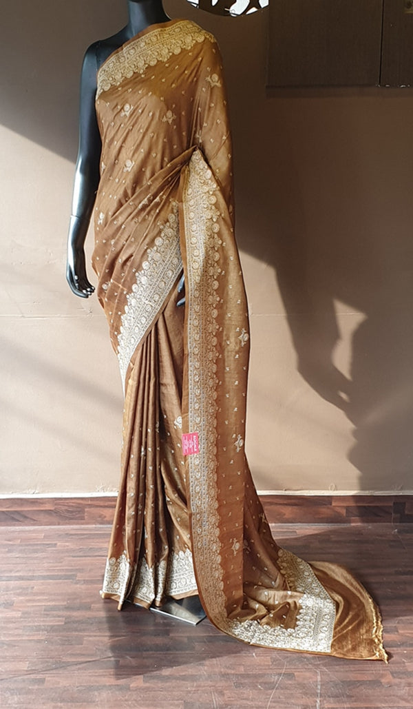 Tussar silk saree 13139
