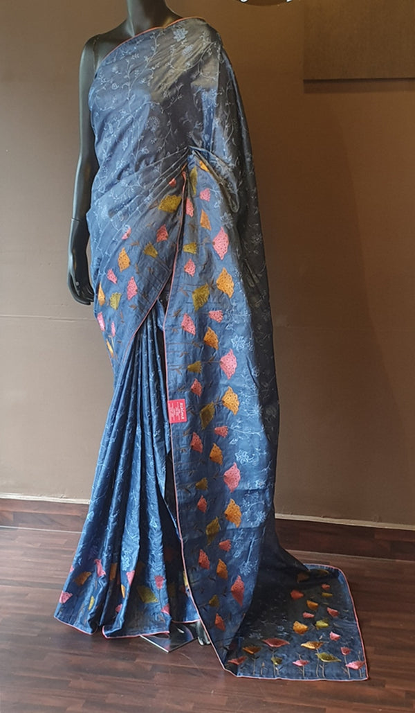 Tussar silk saree 13133