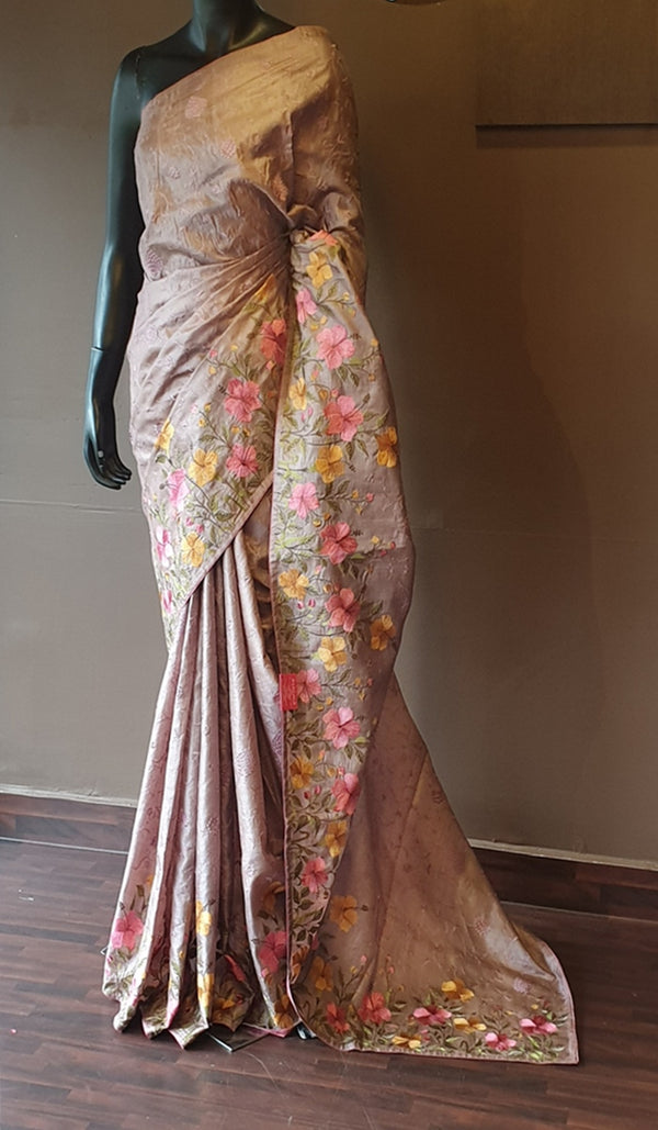 Tussar silk saree 13135