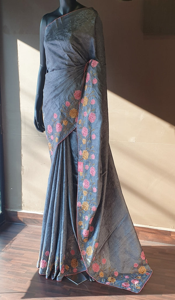 Tussar silk saree 13134