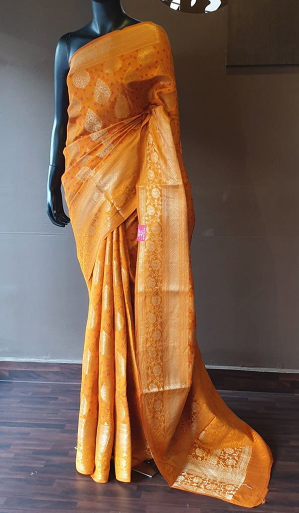 Chiniya silk saree 13150