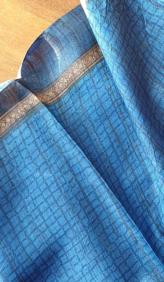 Tussar silk saree 13204