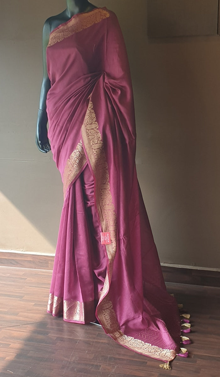 Chanderi saree 13223