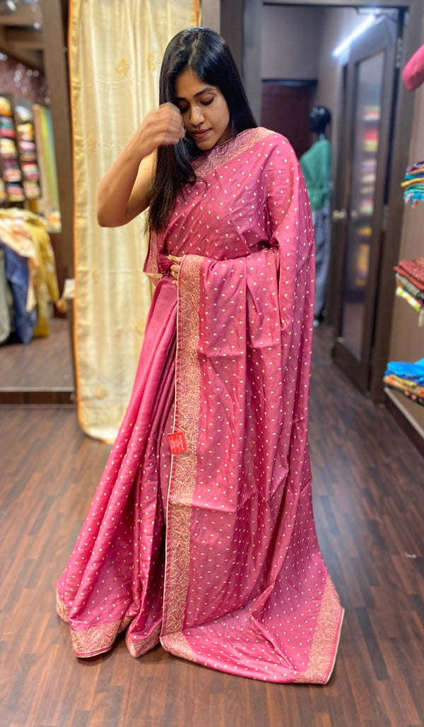 Semi silk saree 13693