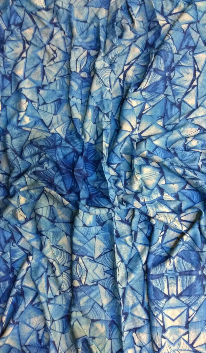 Digital Printed Cotton Fabric FBK79