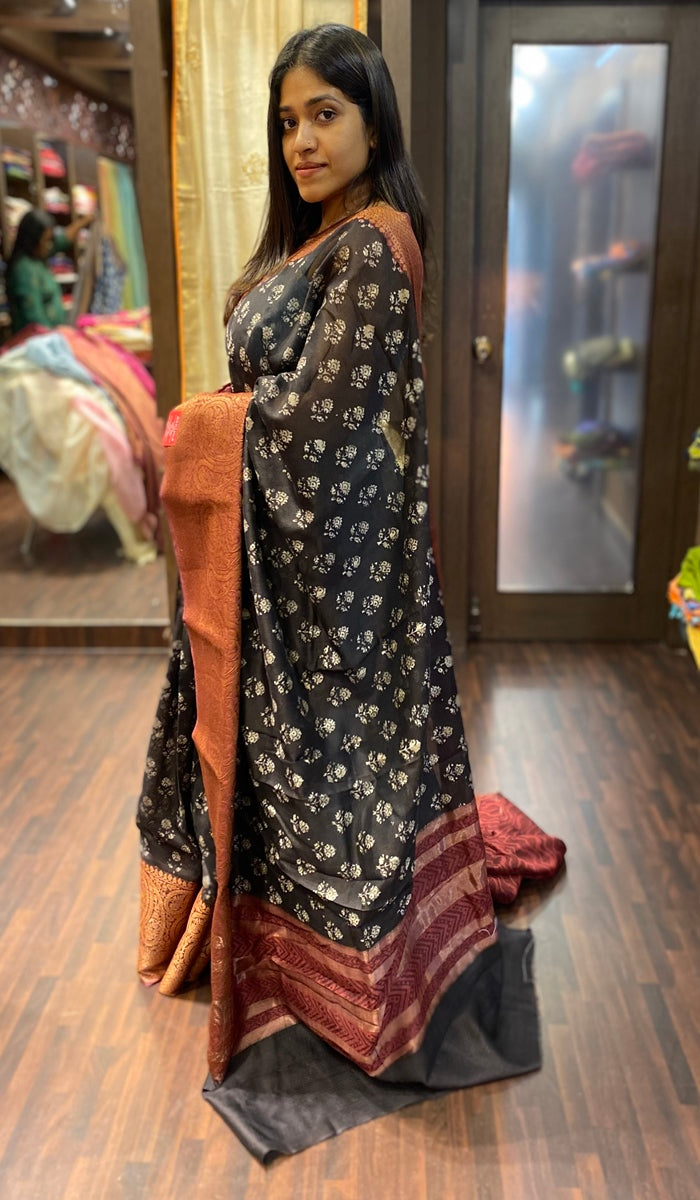 Chanderi saree 13781
