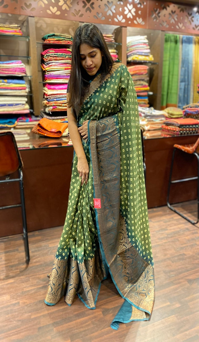 Chanderi saree 13457