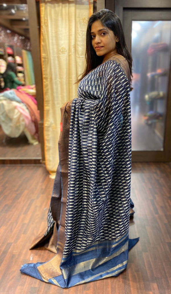 Chanderi saree 13782