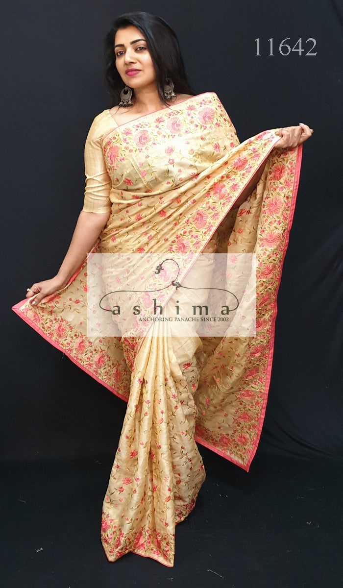 Tussar Silk Saree 11641