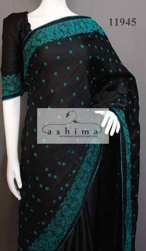 Semi Silk Saree 11945