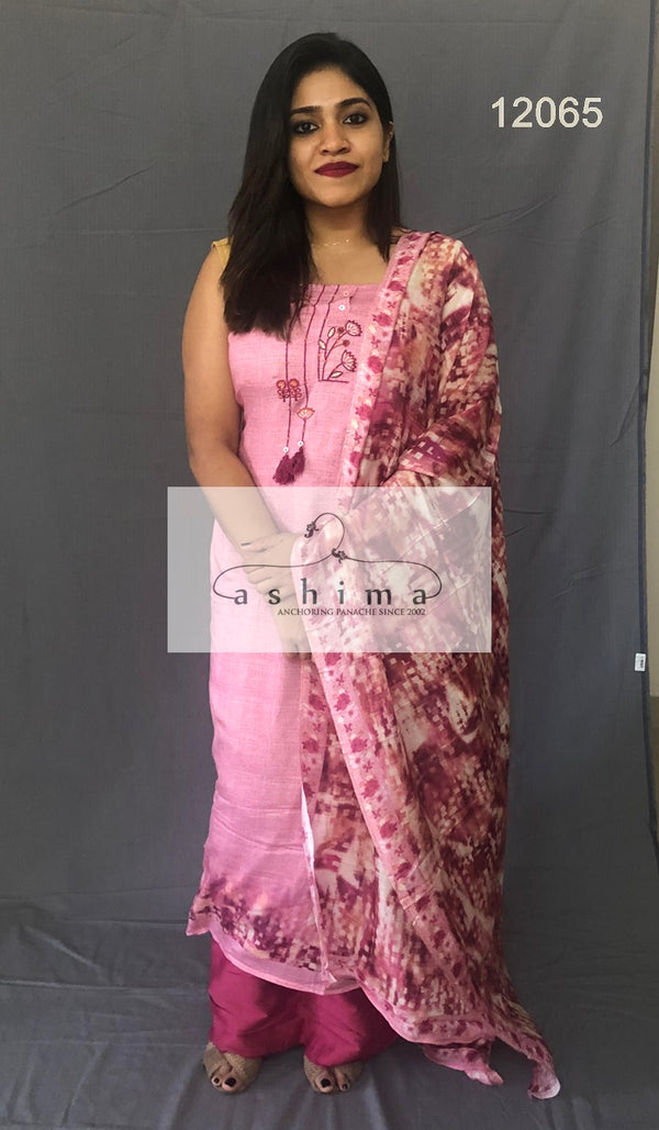 Unstitched salwar suit 12065
