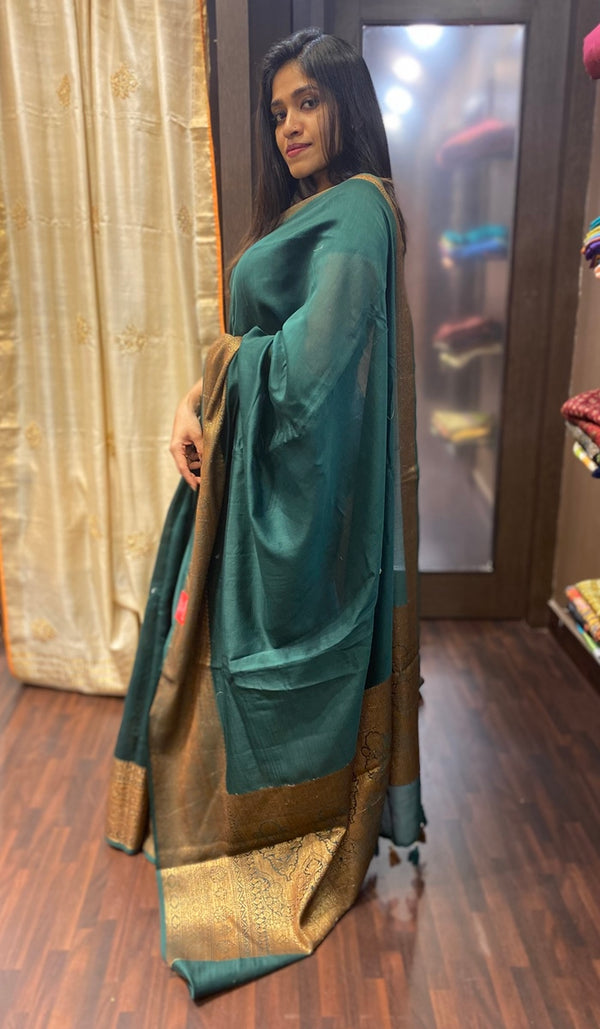 Chanderi saree 13676