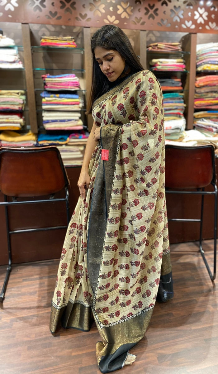 Chanderi saree 13445