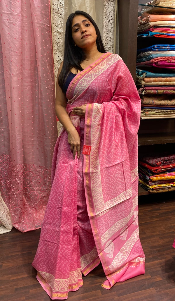 Chanderi saree 14266