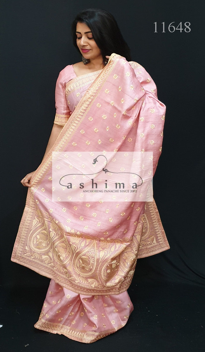 Tussar Silk Saree 11648