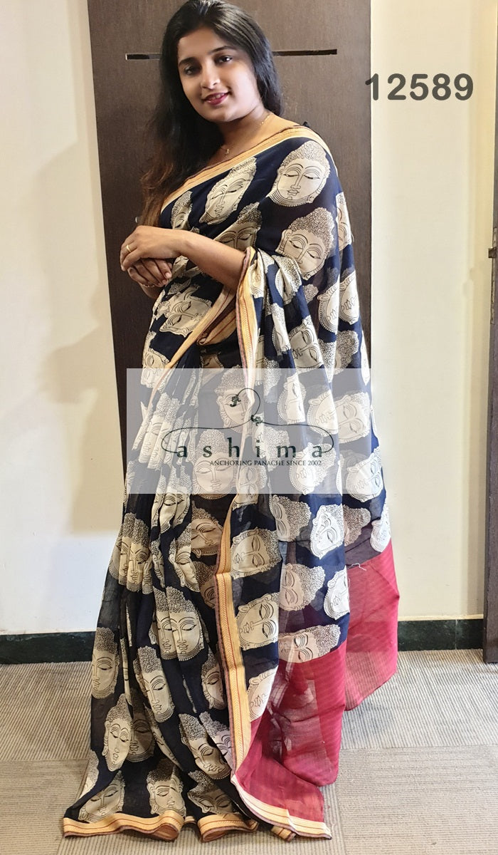 Chanderi Saree 12589