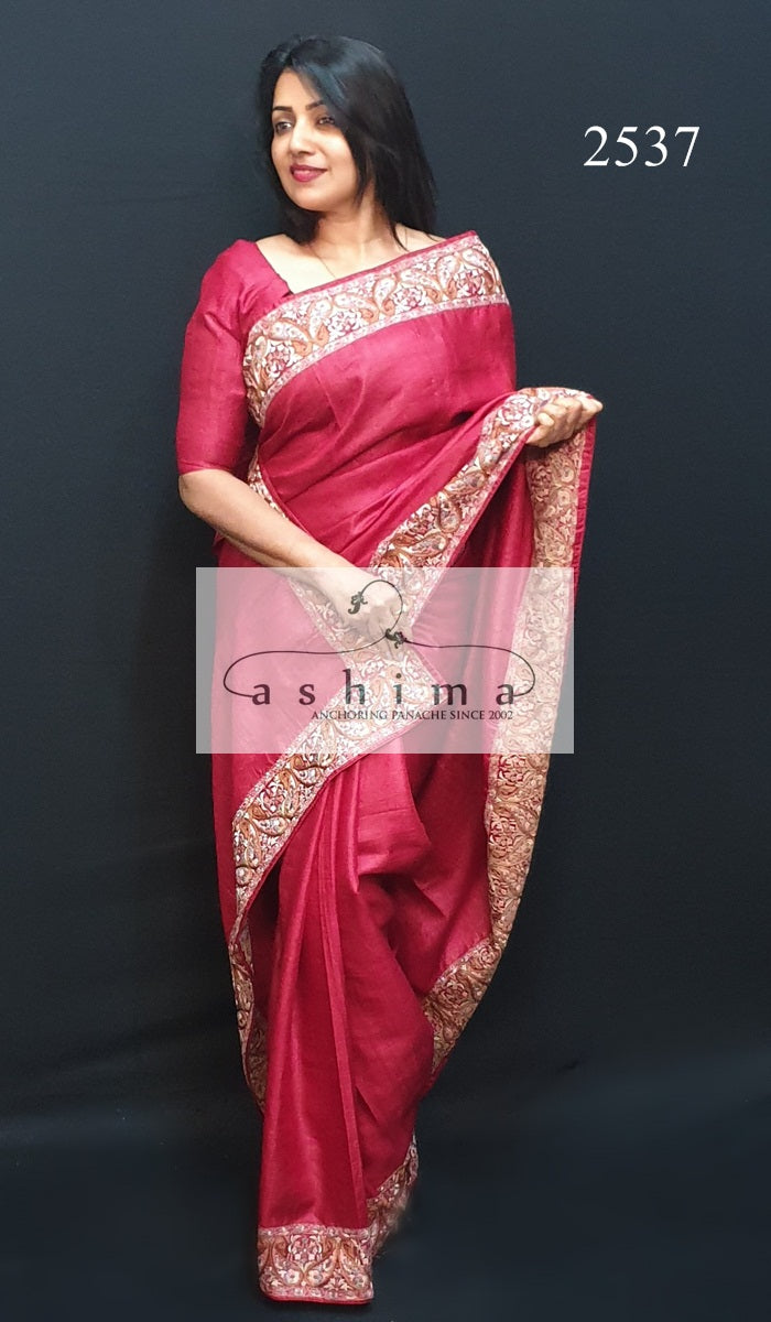 Tussar Silk Saree 2537