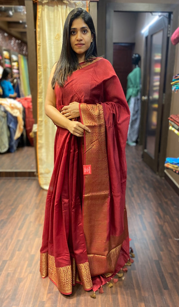 Chanderi saree 13677