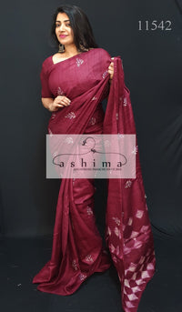 Tussar Silk Saree 11542