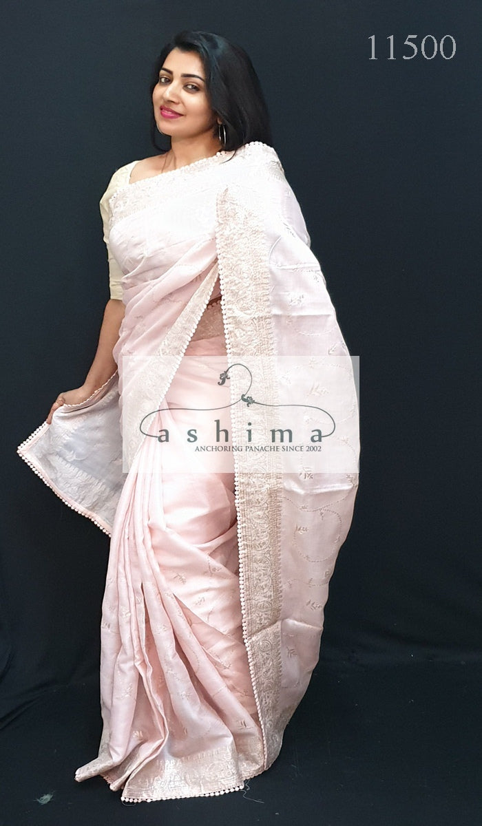 Tussar Silk Saree 11500