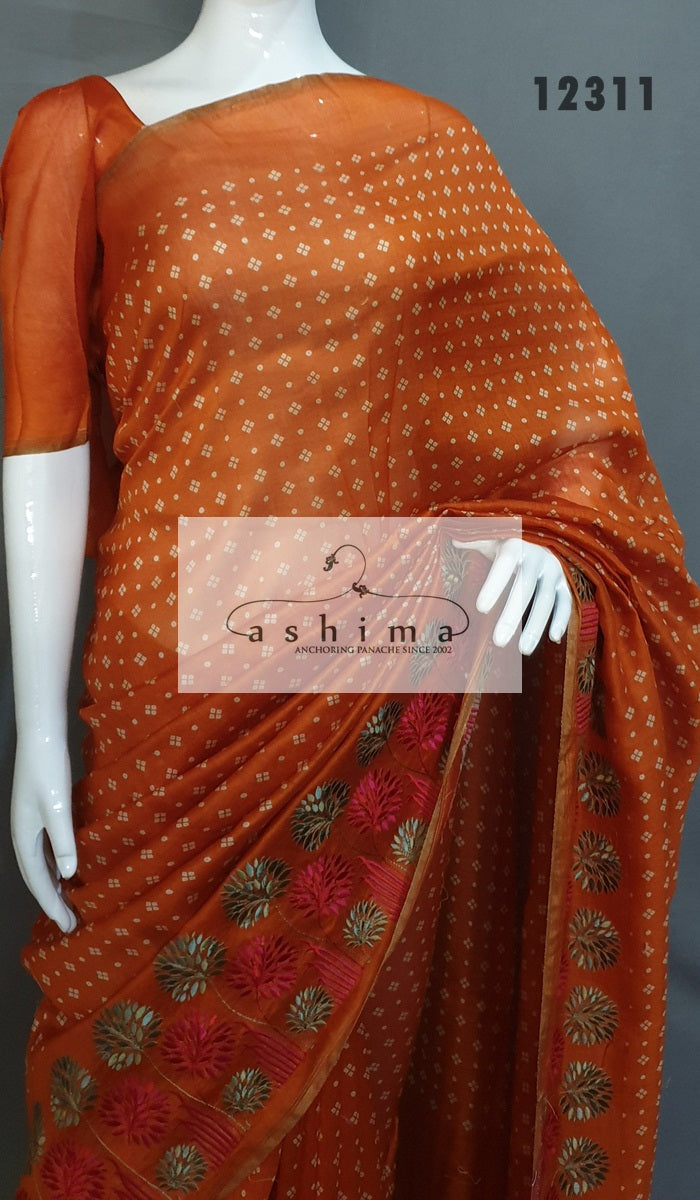 Chanderi Saree 12311