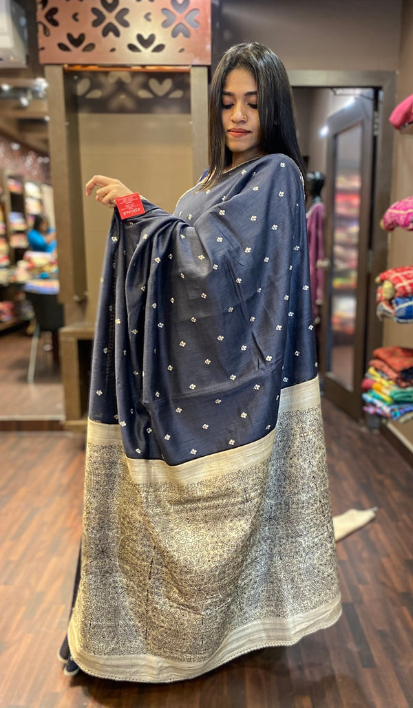 Tussar silk saree 13256