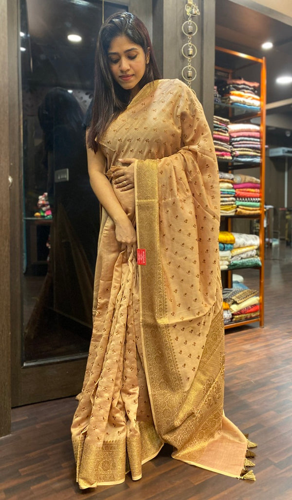 Chanderi saree 14366