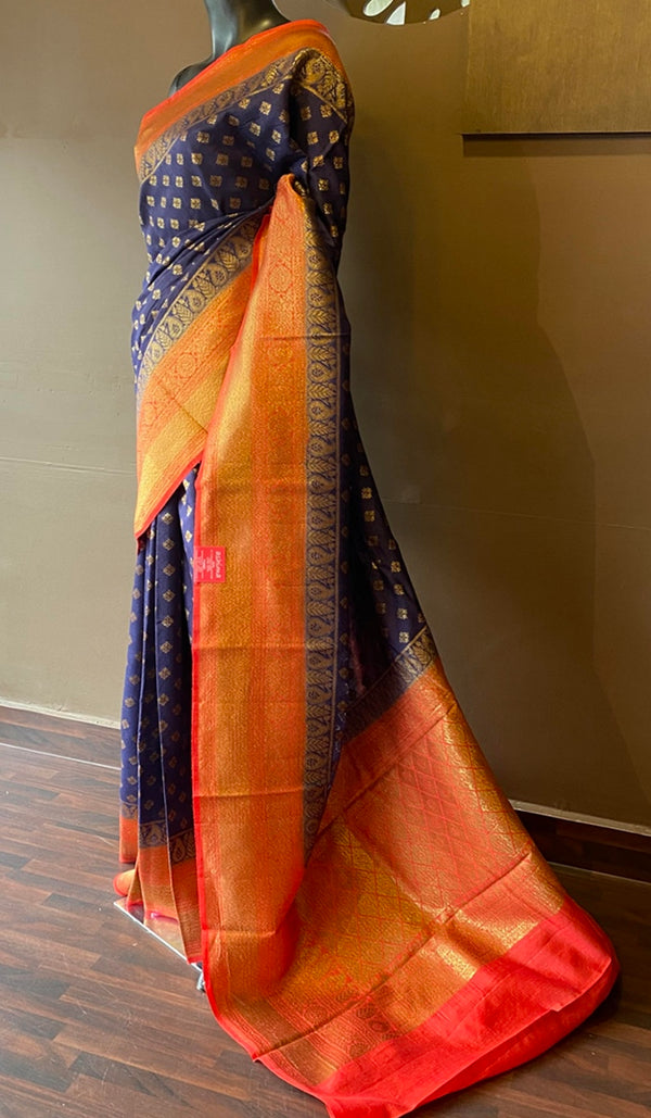 Tussar silk saree 13106