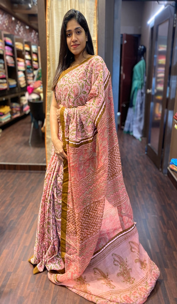 Cotton saree  13813