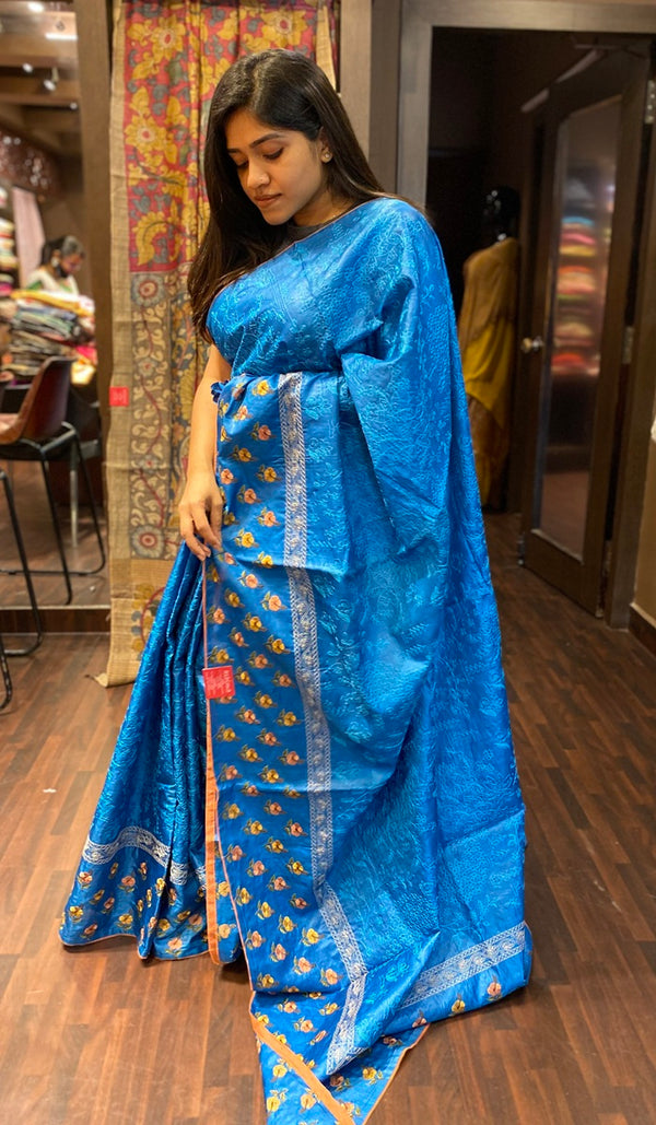 Tussar silk saree 13924