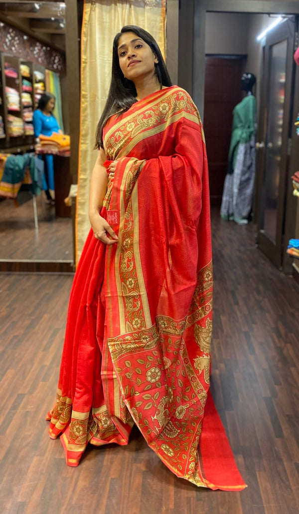 Chanderi saree  13642