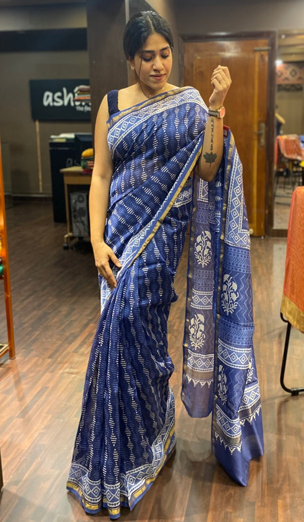 Chanderi saree 14256