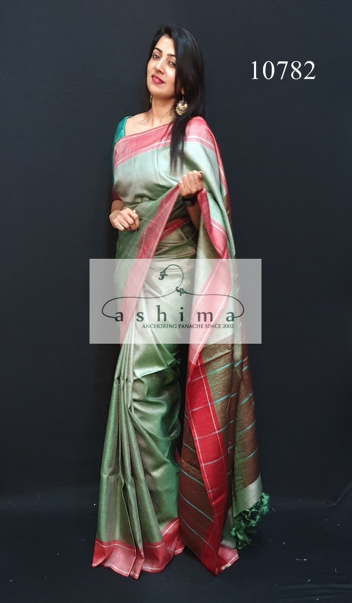 Tussar silk saree 10783