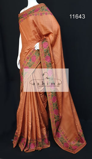 Tussar silk saree 11643
