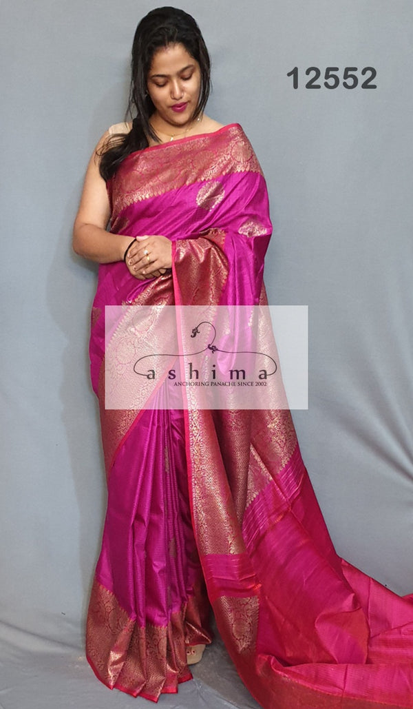 Banarasi silk saree 12552