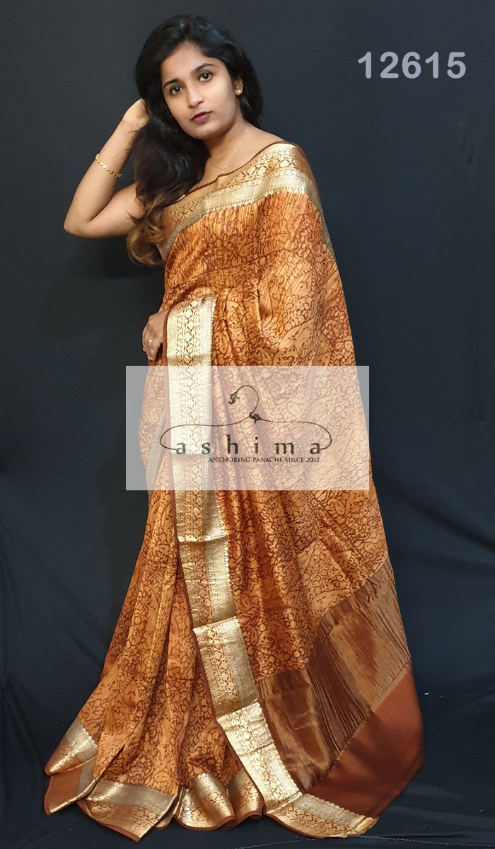 Chanderi Saree 12615