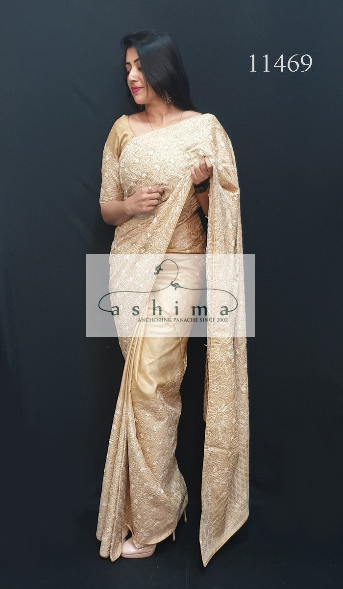 Tussar silk saree 11469