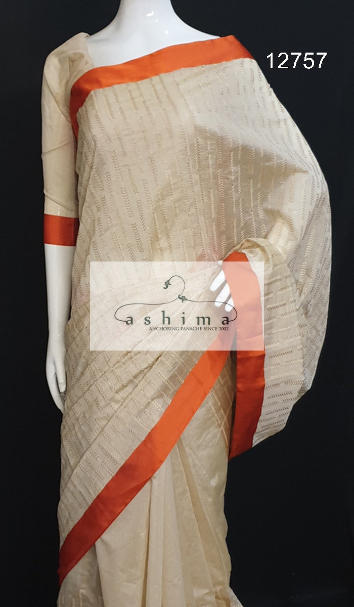 Chanderi Saree 12757