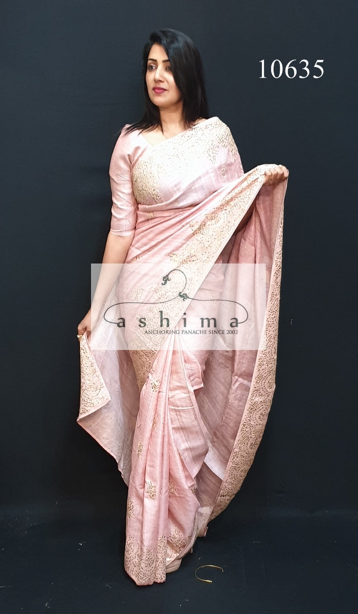 Tussar silk saree 10635