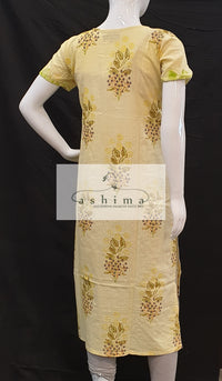 Cotton Kurti - Medium- Kurti 25